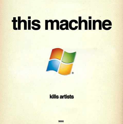this machine kills artists